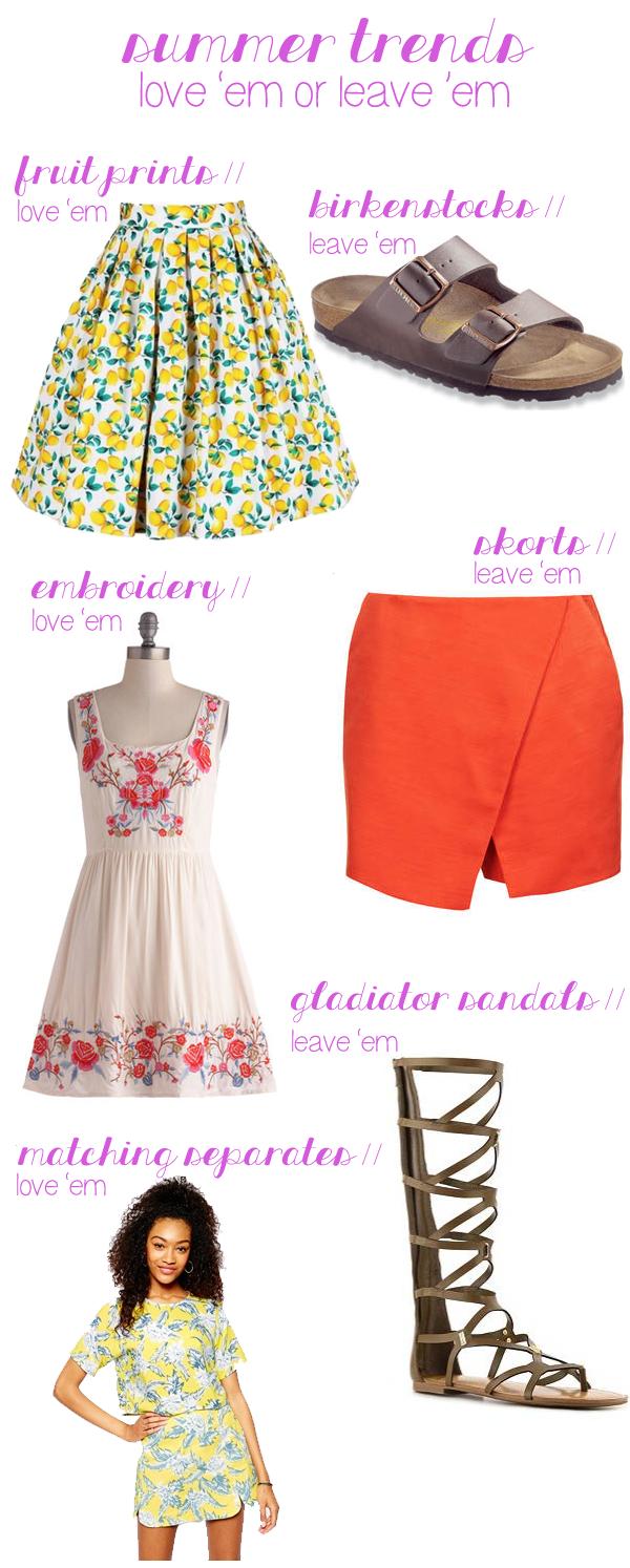 summer trends 2014