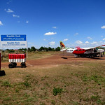 The Lethem airport. Photo by Andrew Short.