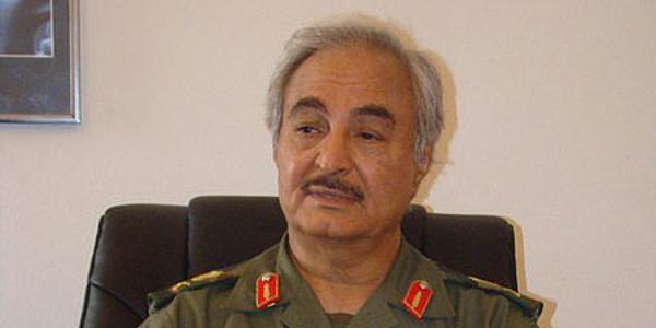 General Khalefa Haftar. Image credit: Wikimedia Commons