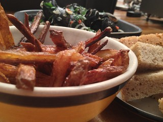 Easy Oven Chips : Moules Frites