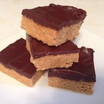 no-bake peanut butter bars on twothirtyate.com