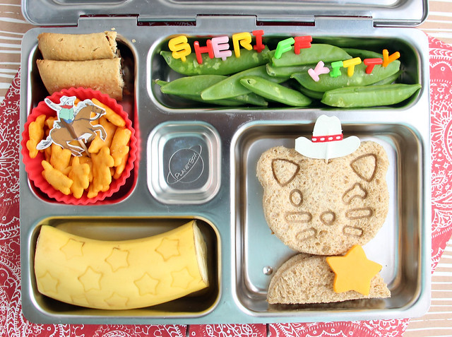 Preschool Sheriff Kitty Bento #648