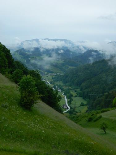 mountains verde green fog clouds valle slovenia valley lugares nubes slovenija niebla eslovenia montañas zagorjeobsavi