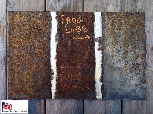 Frog Lube vs FireClean Rust Test