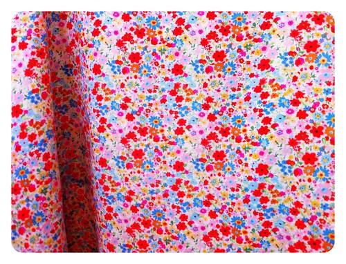 Floral Linen Archer fabric