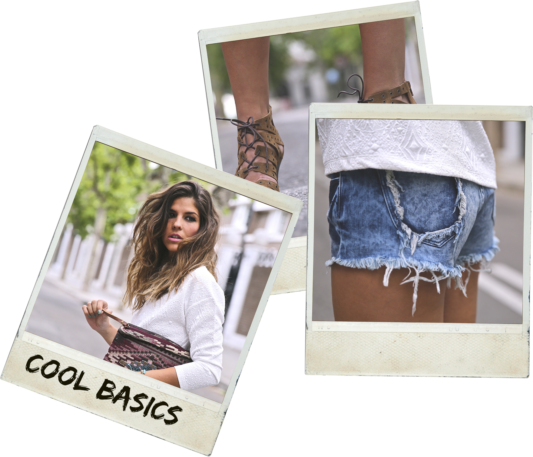 trendy_taste-look-outfit-street_style-ootd-blog-blogger-fashion_spain-moda_españa-denim_shorts-shorts_vaqueros-top_blanco-white_top-sandalias_cordones-ethnic_cluth-clutch_etnico-el_corte_ingles-polaroid