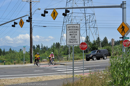 Gresham-Fairview crossing Division