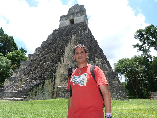 Sele en Tikal (Guatemala)