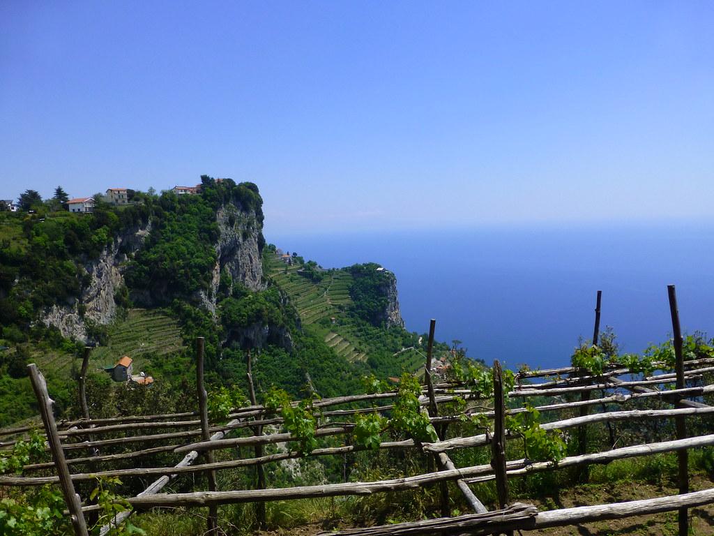 View of Sentiero degli Dei