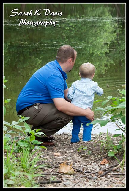 Daddy & Corbin