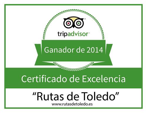 Certificado Excelencia Tripadvisor 2014