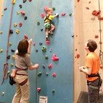 George's first proper climb :-D