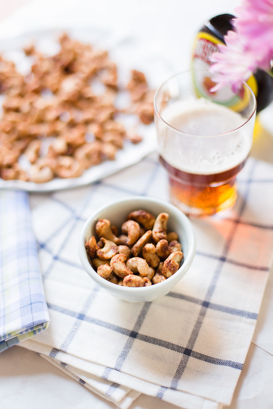 Oven Baked Marmite Cashews by Elsa Brobbey