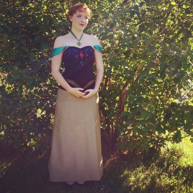 Princess Anna, Frozen, for #portcon2014