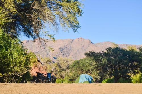 Camping near the Brandberg