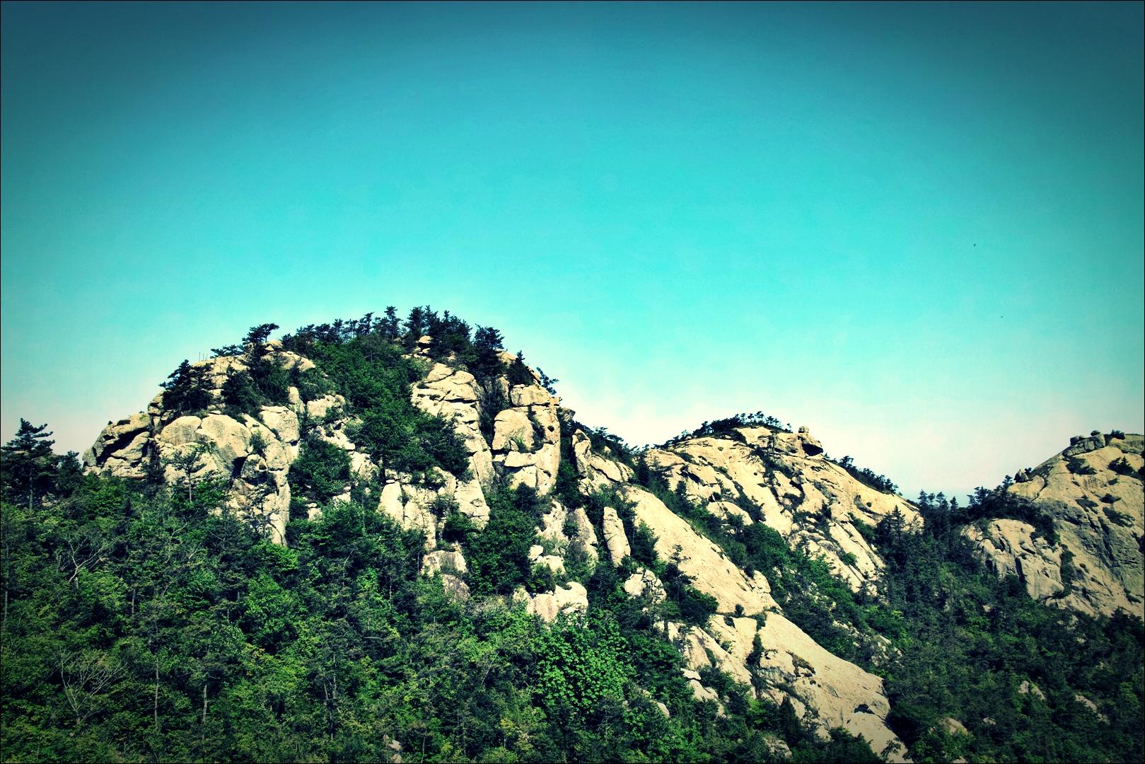 바위산-'비금도 Bigum Island Shinan'