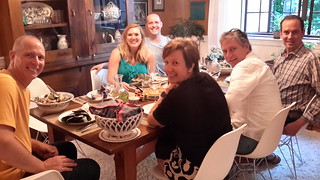 Final night dinner with family & friends