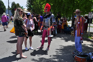 2014 Fremont Solstice parade - The Carnival Band 01