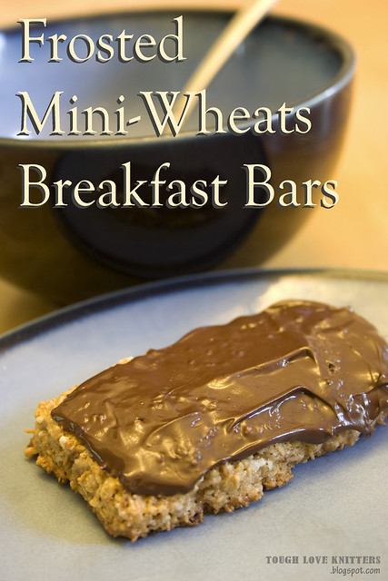 Frosted Mini Wheats Cereal Bars - Title