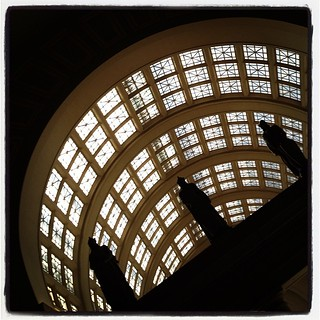 Union Station. #savingplaces #unionstation #washingtondc #train #trains #unionstationtour @savingplaces