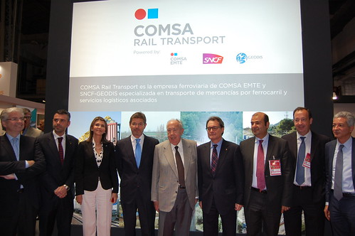 COMSA Rail Transport presents its latest products at the 16th edition of the SIL