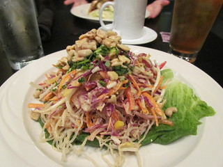 Kelp Noodles Pad Thai at Greens & Vines