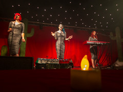 Glastonbury 2014 - The Lounge Kittens