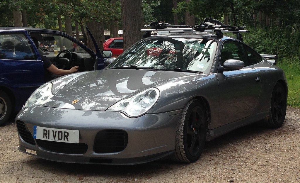 A Porsche 911 With Bikes On The Roof Singletrack Magazine
