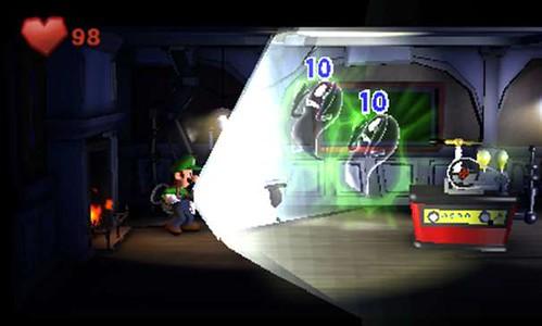 Luigi's Mansion 2 - ghostbuster