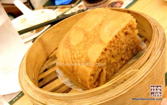 Steamed Egg Cake