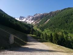 Start Aufstieg Klaussee und Rauchkofel