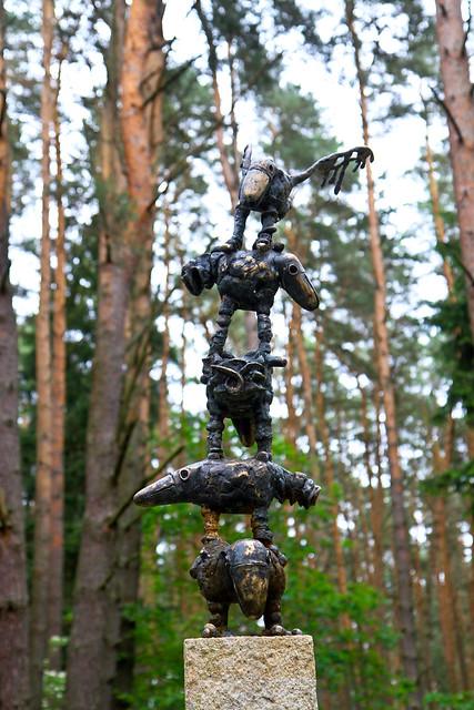 Birštonas | Skulptūros Vytauto parke
