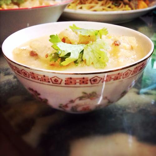 cantonese, chinese, Creamed Corn, Fish Maw, recipe, Soup, 粟米, 粟米魚肚羹, 羹, 花膠, 魚肚