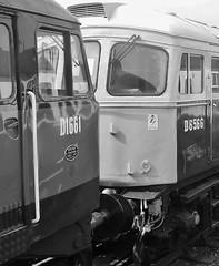 Heritage Diesel locomotives.