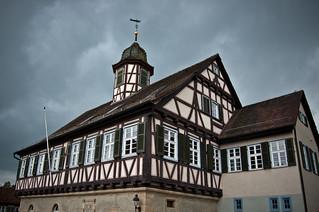 Altes Rathaus, Waldenbuch, BaW�. Foto: Stephan Benz