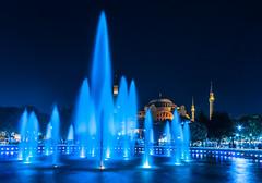 Hagia Sophia Twilight, Istanbul Turkey
