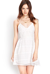 favorite embroidered dress forever 21 lace white
