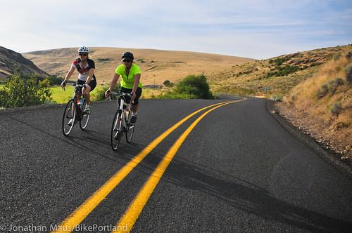 Treo Bike Ranch trip day 3 - Hardman to Columbia River-7