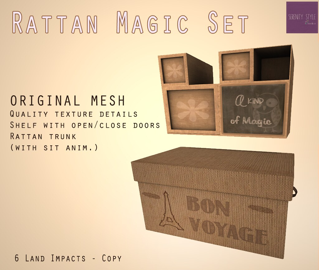 Rattan Magic Set