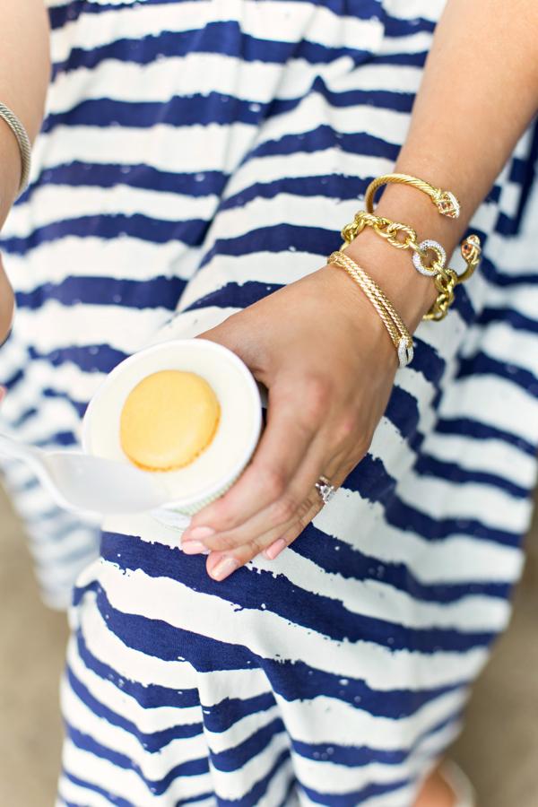 Laduree Sorbet + DY Bracelets