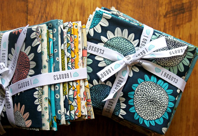 Sarah Watson's new organic Arcadia collection for Cloud9 Fabrics
