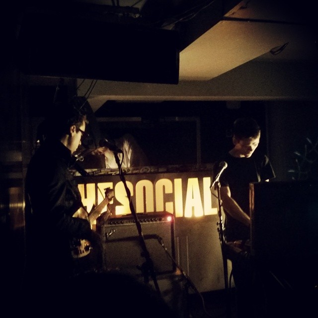@thevacantlots on stage at the social this evening @soniccathedral #thevacantlots #live