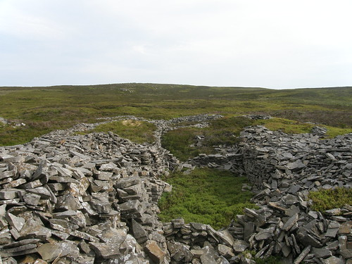 Quarry....remains, Clougha Pike