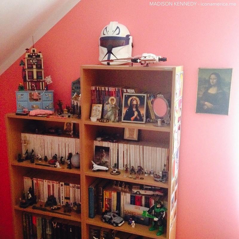 my geek bedroom