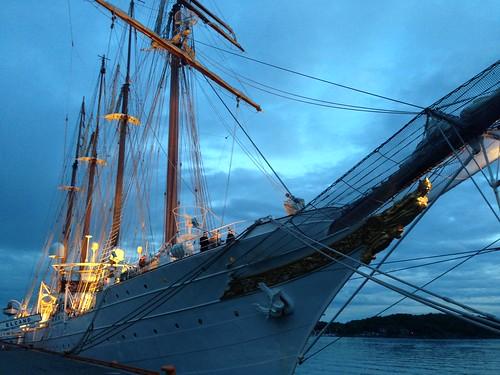 J.S. Elcano, Oslo