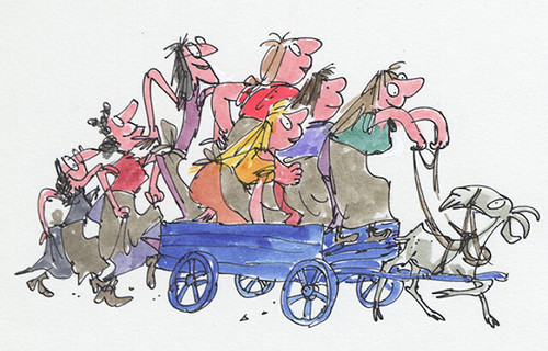 Quentin Blake. House of Illustration
