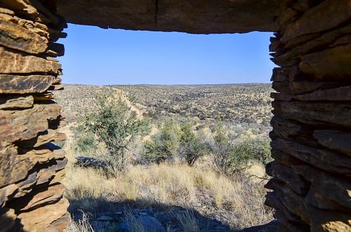 Von Francois fort, Khomas highland, Namibia