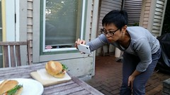 The making of the amazing instagram banh mi photo…