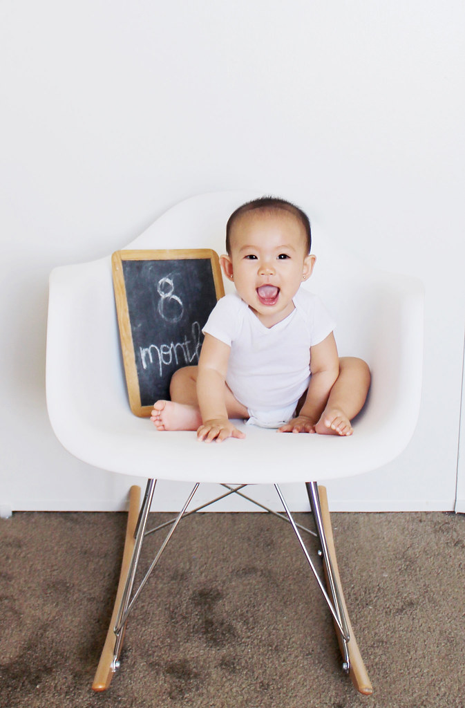 serene joy at 8 months
