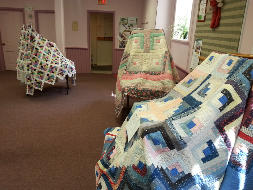Clifford Quilt Show featuring the Dignity Quilt